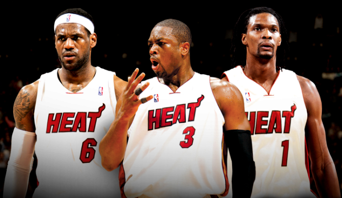 Image result for the miami heat big 3 no more